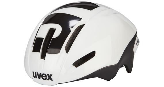 UVEX EDAero Helm white-black mat